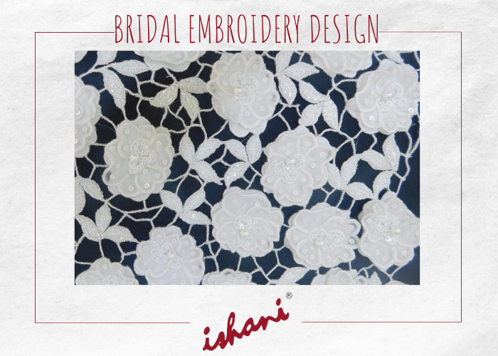 Bridal Embroidery By Ishani - Design 10