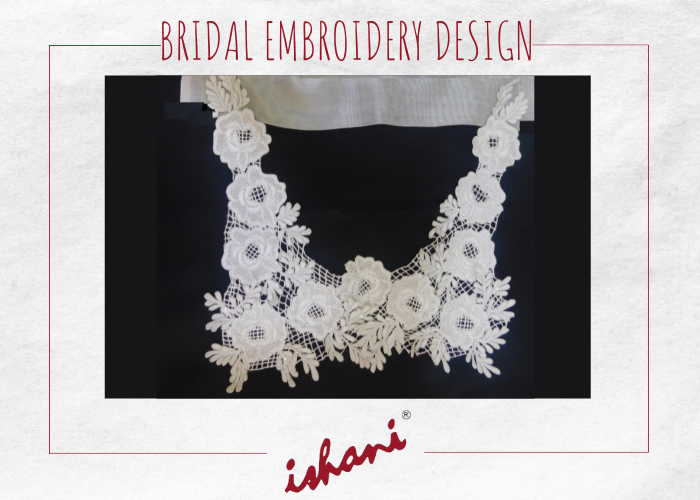 Bridal Embroidery By Ishani - Design 11