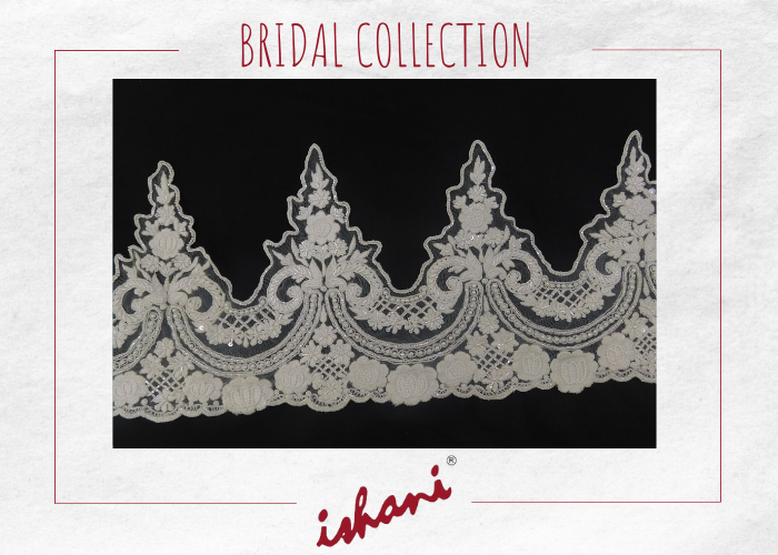 Bridal Embroidery By Ishani - Design 2