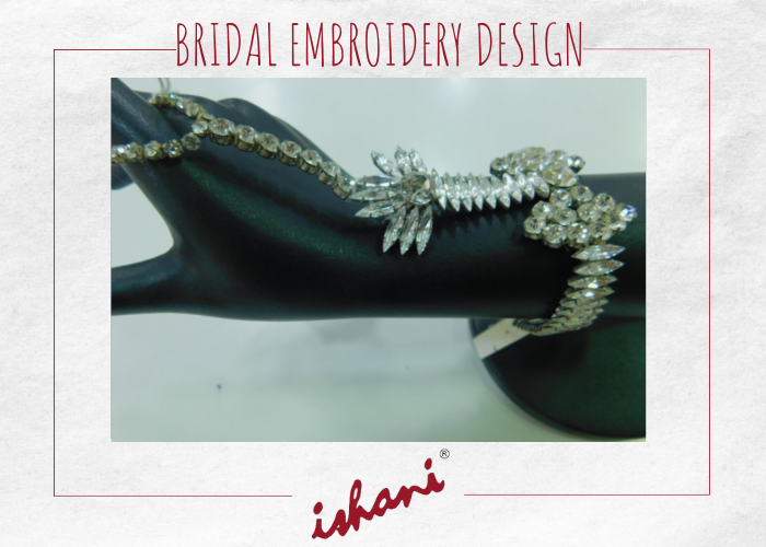 Bridal Embroidery By Ishani - Design 3