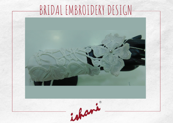 Bridal Embroidery By Ishani - Design 4