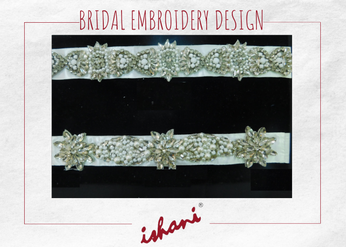 Bridal Embroidery By Ishani - Design 7