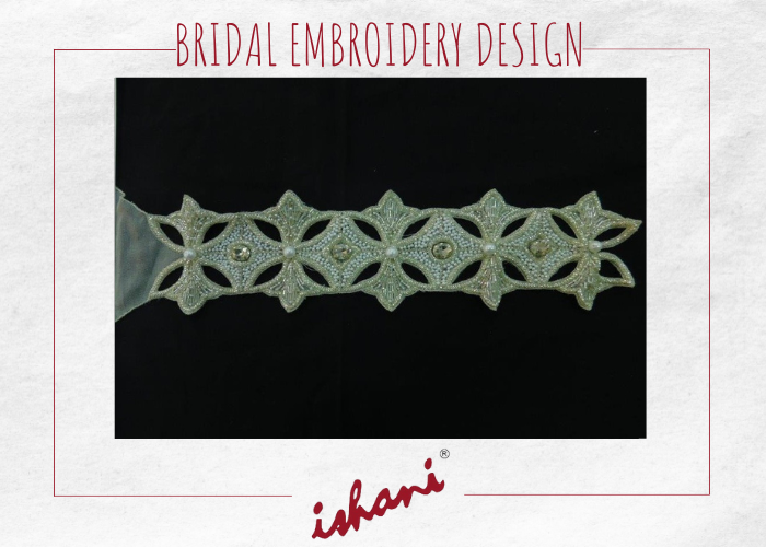 Bridal Embroidery By Ishani - Design 8